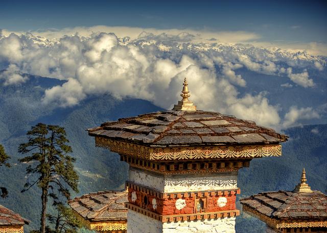 Bhutanin vuoria
