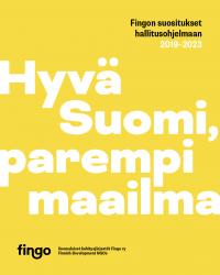 hyvä suomi parempi maailma kansiteksti