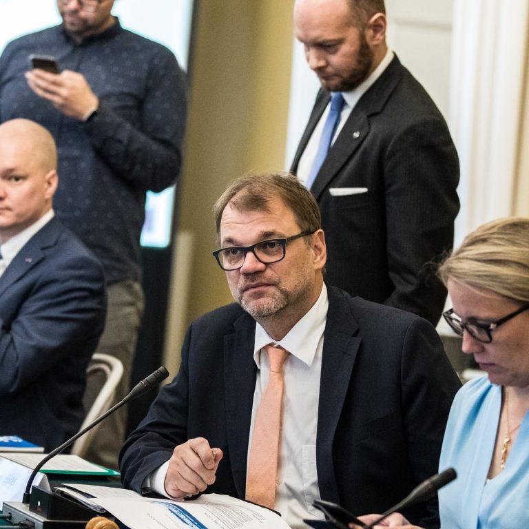 Juha Sipilän hallituksen jäseniä