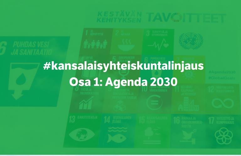 kuvituskuva Agenda 2030