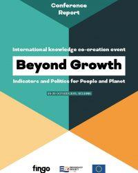 Beyond Growth -konferenssiraportin kansi