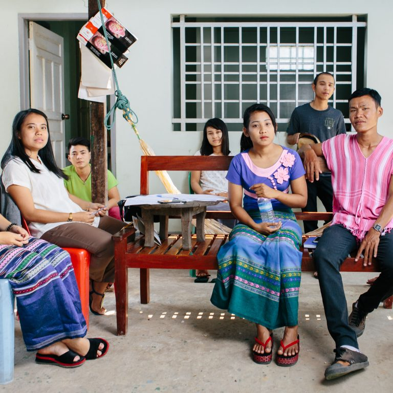 Nuorten rauhanryhmä Myanmarista