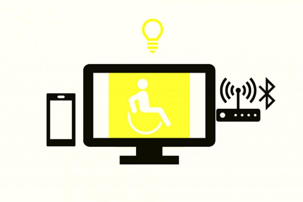 Illustrations, disability and technology
